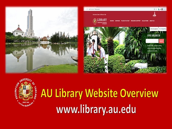 Library Website Overview